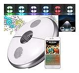 AJIC Luci Ombrello con Wireless Bluetooth Altoparlanti 2 in1 Altoparlante Stereo Ricaricabili Ombrellone Campeggio luci luci for Ombrelli Tende da Campeggio