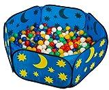 Smart & Clever pop up himmlisches Babypool Bällebad Bällepool + 450 bunte Bälle