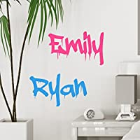 Personalised Graffiti Name - Custom Wall Sticker