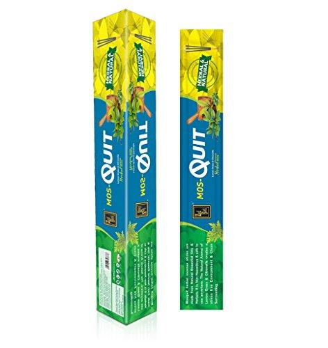 Mosquit Encens - 120 bâton à base de plantes - chasse-moustiques Bâtons de parfum naturel - efficace et digne fabriqués à partir d'huiles essentielles naturelles, les produits à base de plantes - Bâtons Huile parfumée