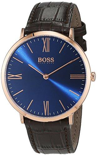 Hugo BOSS Herren-Armbanduhr 1513458, Braun/Blau