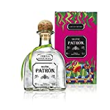 Patrón Silver Tequila in Metallbox limitierte Edition