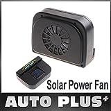 yirone (TM) Energía Solar Car Auto Cool Air Vent goma para desmontar Vehículo Ventilador accesorio de refrigeración envío gratis Wholesale