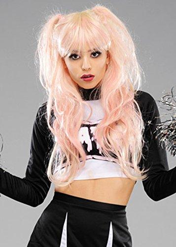 Magic Box Int. Womens Deluxe Pink und Blonde Zombie Cheerleader ()