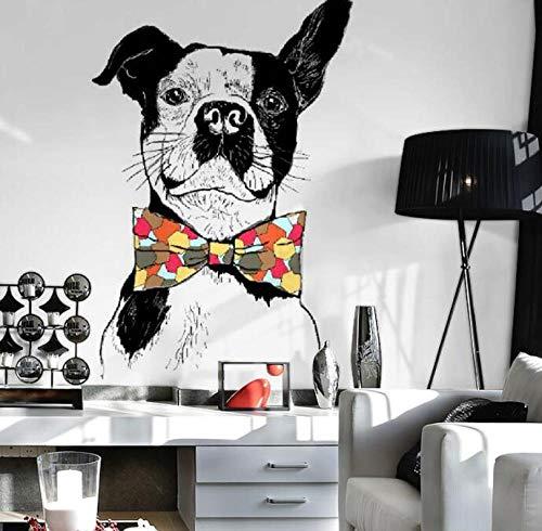 3D Vliestapete Wandaufkleber Wandbild Frankreich Hund Tier Dekoration 3D Fototapete Tier Wallpaper @ 400 * 280 -