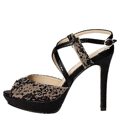 Laura Biagiotti 529 Sandalo Donna Raso TAUPE TAUPE 41