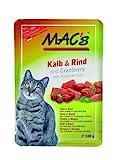Macs Cat Kalb-Cranberry 100gP