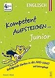 Kompetent Aufsteigen Junior Englisch 4. Klasse VS mit CD