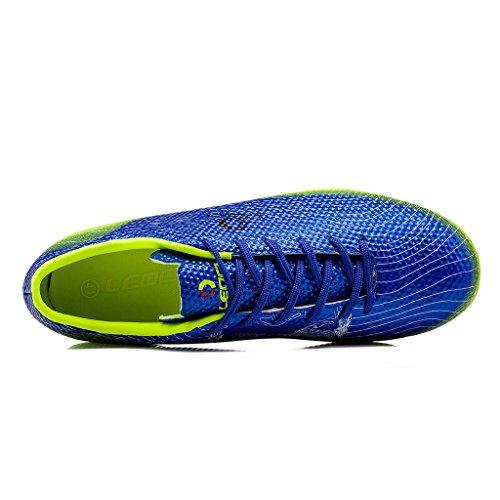 Aleader  Performance, Chaussures de football pour homme Bleu