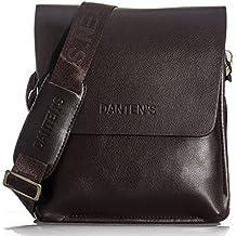 OFTEN® Männer Echtes Leder Handtasche Schultertasche Messenger Bag Aktentasche iPad Mini Vertical