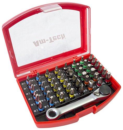 Preisvergleich Produktbild Am-Tech L3352 Bitset farblich kodiert, 49-teilig