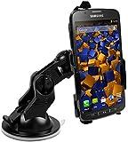 mumbi KFZ Halterung Samsung Galaxy S4 Active / Autohalterung VibrationsFREI / 90° QUERBetrieb möglich