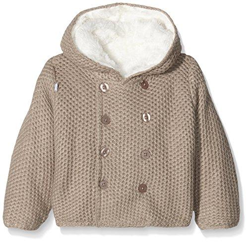 Absorba Boutique Unisex Baby Mantel 9I44021, Braun (Taupe 64), 62 (Herstellergröße: 3M)