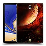 Head Case Designs Saturn Raumwunder Set 2 Ruckseite Hülle für Samsung Galaxy Tab S4 10.5 (2018)