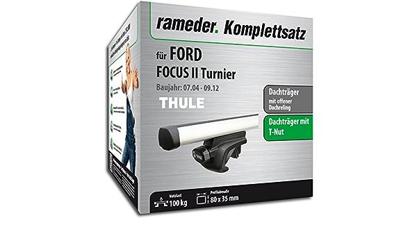 Rameder Komplettsatz Dachträger Probar Für Ford Focus Ii Turnier 115511 05397 82 Auto