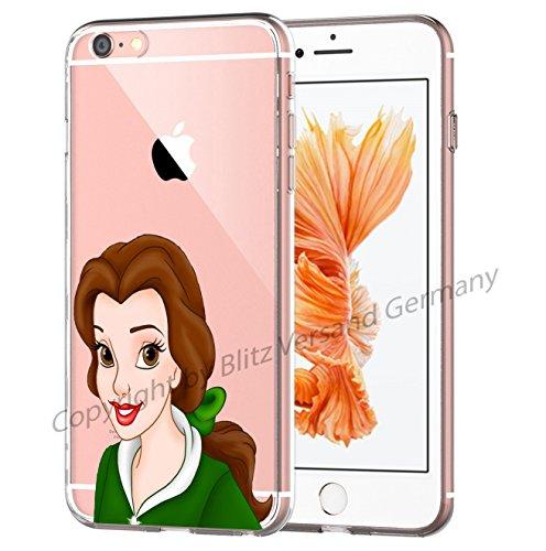 Blitz® La Beauté et la Bêtemotifs housse de protection transparent TPE SAMSUNG Galaxy M5 iPhone X M6