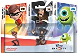 Disney Infinity 3 Character Figure Triple Pack: Helen Parr, Barbossa, Mike