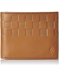 Indesign Men's Leather Wallet Tan (TN-SY-PC-01)