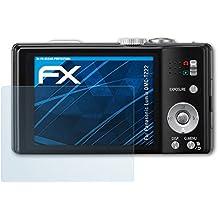 Panasonic Lumix DMC-TZ22 Schutzfolie - 3 x atFoliX FX-Clear kristallklare Folie Displayschutzfolie