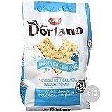 Doria Set 12 Crackers sacco non salati azzurro gr 700 snack salato
