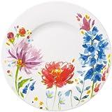 Villeroy & Boch Anmut Flowers Assiette à salade en porcelaine Motif fleurs/multicolore 22 cm 1 pièce
