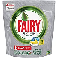 Fairy Platinum Dishwasher Tablets Lemon, 70 Per Pack
