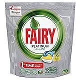 Fairy Platinum Dishwasher Tablets Lemon, 70 Per Pack