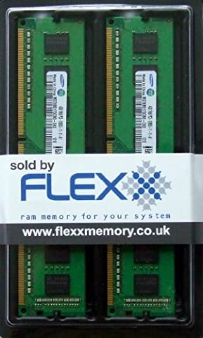 Samsung original Ram memory upgrade 8GB kit (2 x 4GB), DDR3 PC3 12800-1600MHz, 240 PIN DIMM desktop module