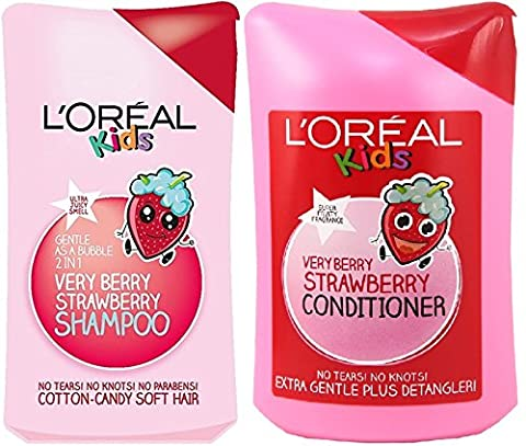 L'Oreal Paris Kids Extra Gentle 2-in-1 Very Berry Strawberry Shampoo