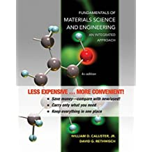 Fundamentals of Materials Science and Engineering: An Integrated Approach 4e Binder Ready Version + WileyPLUS Registration Card by William D. Callister (2011-11-07)
