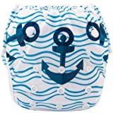 Eco Green Baby - Position Printed Swim Diaper - Anchor