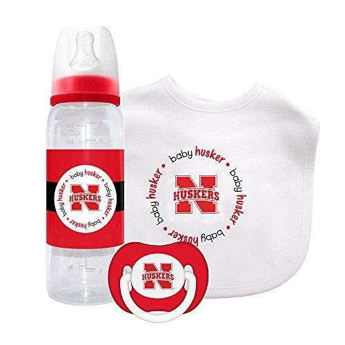 Baby Fanatic Gift Set - Nebraska, University of by Baby Fanatic Nebraska University