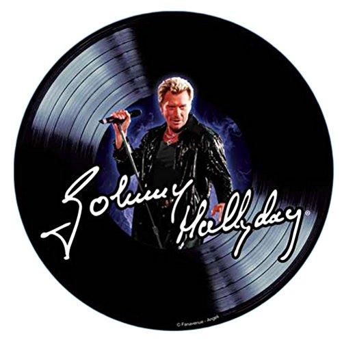 Tapis de souris Johnny Hallyday