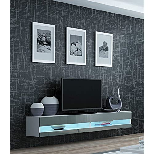 Light Grey Tv Stand Amazon Co Uk