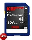 Komputerbay 128GB SDXC Secure Digital estesa velocità Capacity Classe 10 600X UHS-I ultra ad alta velocità Scheda di Memoria Flash 60MB/s in scrittura 90 MB/s in lettura 128GB