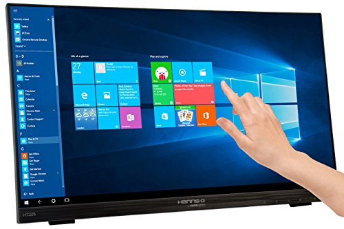 Hanns.G HT225HPB 21.5 cm LED Multi-Touch television screen Monitor - Black UK