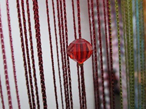 rideau-de-fils-teints-perles-acryliques-panneau-pour-passage-porte-fenetre-rouge-vineux