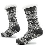 Best Slipper Socks - Knitted Slipper Socks for Men with Sherpa Wool Review