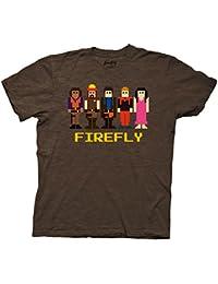 Firefly Crew Chocolate Heather T-shirt de 8bits