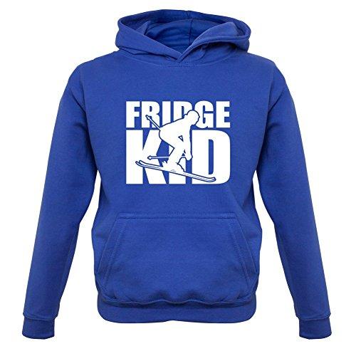 Fridge Kids Ski - Kinder Hoodie/Kapuzenpullover - Royalblau - M (5-6 Jahre)