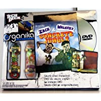 Tech Deck - 22510 - 96 mm Fingerboards - 2 Pack Birdhouse Fingerboards y Skate DVD (Inglés!) - 'Zach & Walkers'