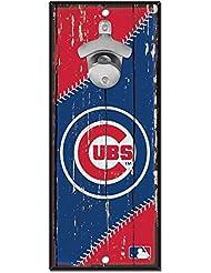 Wincraft Chicago Cubs MLB plaque avec décapsuleur