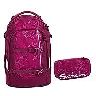 Satch, Set de Sac scolaire violet Lila Rosa Pink