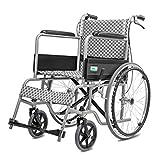 T-Rollstühle Faltender Rollstuhl, mit Toilette, Alter Wagen, Portable, älterer behinderter Roller,