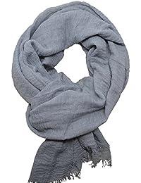 Femme - Foulard - Froissé - pashmina - écharpe - cache-col - 20 Couleurs