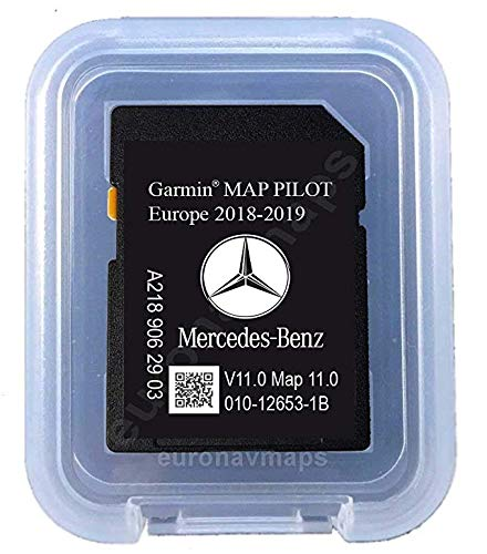 SD Karte Mercedes Garmin Map Pilot STAR1 v11 Europe 2018-2019 - A2189063303 -