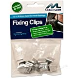 Hall clips -Bag of 20 - Lead flashing fixing clip - Fixed in a flash! Quick flashing clips easy flash use in the chase to dress before pointing or sealing