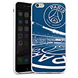 DeinDesign Apple iPhone 6s Plus Coque en Silicone Étui Silicone Coque Souple Paris Saint-Germain PSG Parc des Princes