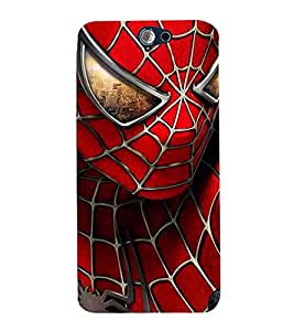 Vizagbeats Spider Man Back Case Cover for HTC One A9