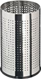 Hailo ProfiLine Basket M Papierkorb (in Lochdesign, aus Edelstahl, 16 Liter) 0815-072